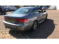 BMW 325D M SPORT COUPE GREY 3.0 DIESEL LIGHT DAMAGE UNRECORDED SALVAGE REPAIRABLE 330D 320D E92 E90