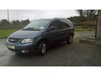 Chrysler voyager for sale going well leather seats mot end of feb