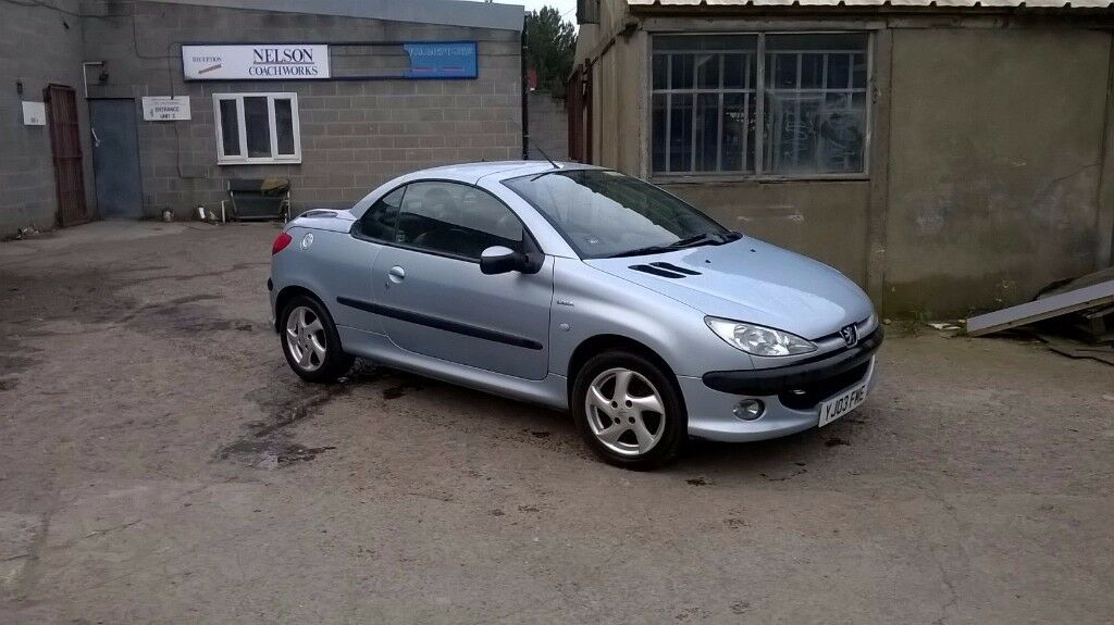 PEUGEOT 206 CC 1.6 LEATHER INTERIOR ALLOY WHEELS SPARES REPAIRS ...