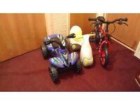 Kids bounce bike , kids bike and kids electric quad