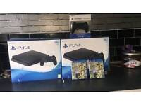 PS4 brand new not opened
