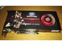 ATI radeon HD5850 pcie gfraphics card
