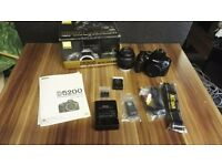 Nikon D5200 boxed with everything