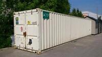CONTAINERS A LOUER - FOR RENT PARC INDUSTRIEL LAVAL