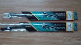 Flat wiper blade 530 mm ( 2 items ) BRAND NEW
