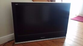 Panasonic viera 32 inch black TV for sale