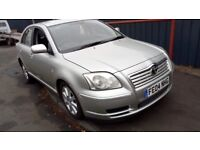 2004 Toyota Avensis 1.8 Petrol, 5 Door in Silver Colour. Mileage is 216K comes with 6 Months MOT