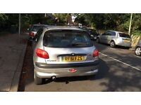 Peugeot 206 for sell, Long MOT, drives well, cheap.