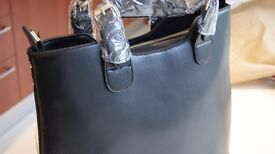 New with Tags L&S London Black Handbag