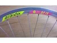 Bicycle Rigida 700c Alloy Wheel Set .