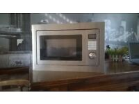 Built-in Microwave 900w, Grill/Combi 1000w Model BMGE25SS