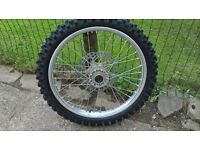 KTM SX, SXF, EXC front wheel . Fits up to 2015
