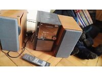 Free hi-fi with aux option - Hitachi AX-M83