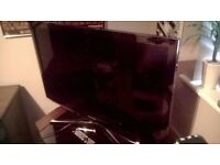 "Samsung 40"" HD LED TV with Remote (optional TV stand available)"