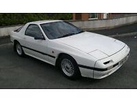 1989 - Mazda - RX7 - RX-7 - FC3S - 13B - 6-port - white - swap for mk2/mk1 cortina or rx8/rx-8