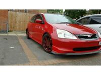 Honda civic type r ep3 or swap for a van