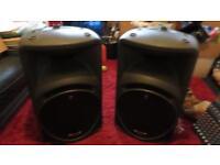 Mackie Srm450 Vs2 Speakers.
