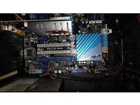 Desktop PC, i7 4960X, LGA 2011, 32GB RAM, 512GB Samsung 840 PRO SSD, Win 10 PRO