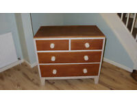 Vintage Wooden Set of Drawers