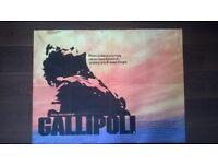 gallipoli ' original cinema poster