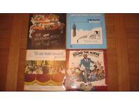 5x Classic Vintage Comedy Records - on Vinyl