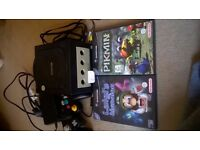 Nintendo Gamecube with memory card and 2 games
