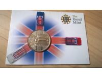 2009 Royal Mint Mini Car 50th Anniversary Commemorative Medal