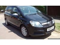 VAUXHALL ZAFIRA AUTOMATIC DIESAL 2006 WITH HISTORY AND MOT