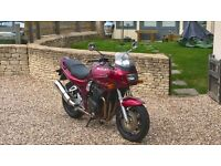 SUZUKI BANDIT 1200SY MAROON 2000, ONLY 6300 MILES, EXCELLENT CONDITION