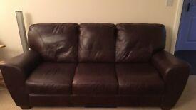 2 x 3 seater sofa's