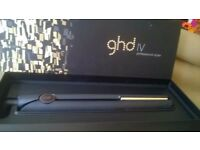 100% ORIGINAL GHD IV PROFESSIONAL STYLER BOXED AS NEW JOHN LEWIS PURCHASED.