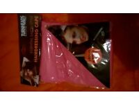 Joblot Bulk Wholesale Turnheads Hairdressing Capes Pink New