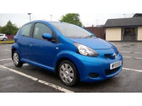 Toyota Aygo 2010 1.0cc Automatic, Excellent Condition.