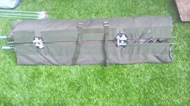 MOD Officers' Camp Bed with waterproof cocoon and pillow
