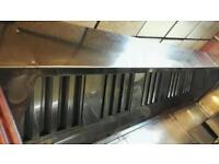 Stainless Steel Extraction Canopy