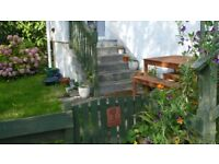 Holiday cottage on the Isle of Cumbrae, dogs welcome, sleeps 2/3