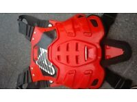 motocross, pitbike, crosser, two stroke chest armour