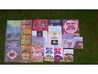** COOK BOOKS ** Healthy Eating/ Slimming/ Low Fat/ Vegetarian recipes etc