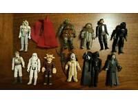 Star Wars figures, original 1980s