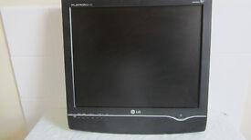 "17"" LG monitor & TV. £20"