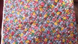 Poo Bear quilted fabric