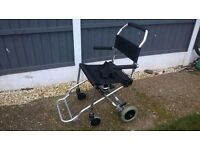 LOVELY AVANTI LIGHTWEIGHT TRANSIT / WHEELCHAIR WITH CARRY BAG