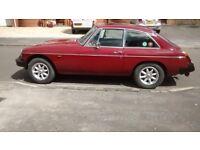 MGB GT 1980.