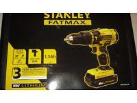 Stanley Fatmax 18v Hammer Drill