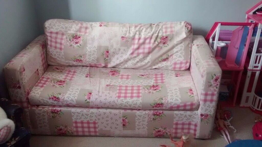 """Children's Sofa for Sale, Dimensions are 53"""" long x 26"""" deep x 21.5 high"""