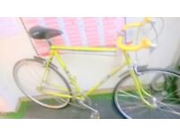 ROAD BIKE SINGLE SPEED CONVERSION LOTS NEW PARTS FULLY RESTORED