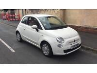 2008 08reg Fiat 500 1.3 TD M-Jet White Low insurance