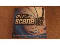 007 James Bond SceneIt? DVD board game