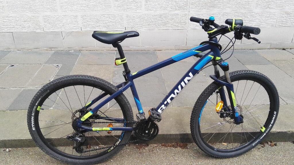 Mountain Bike Rockrider 520 275 Includes Accesories Like New In Bellevue Edinburgh Gumtree