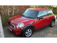 mini one red 1.4 2008 58 plate excellent condition